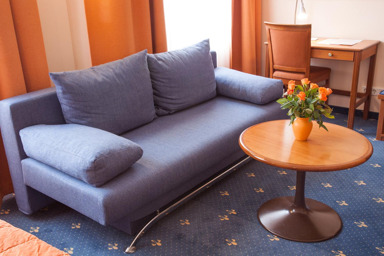 Sitzecke Doppelzimmer Superior